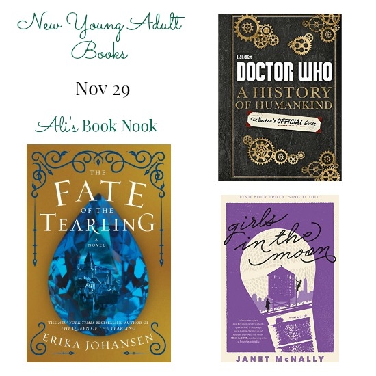 Brand New young adult books coming nov 29