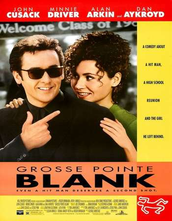 Poster Of Grosse Pointe Blank 1997 Hindi Dual Audio  300MB  720p  HEVC Free Download Watch Online world4ufree.org