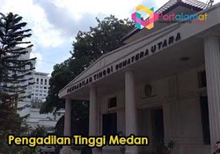 Alamat Pengadilan Tinggi Medan