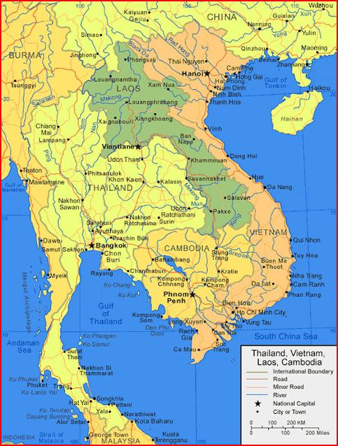 image: Cambodia Map HD