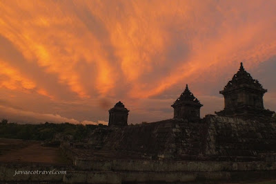 Sunset at Barong Temple
