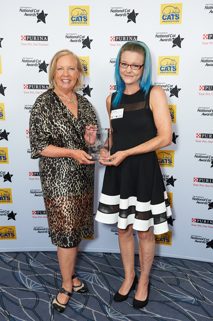 Deborah Meaden and Emily Hatton at National Cat Awards