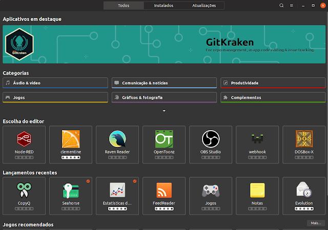 Loja de Apps Ubuntu