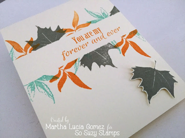 FALL FOREVER AND EVER - Stampartpapel