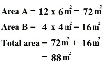 Math Is Fun: Calculate The Area of Composite 2-D Shapes
