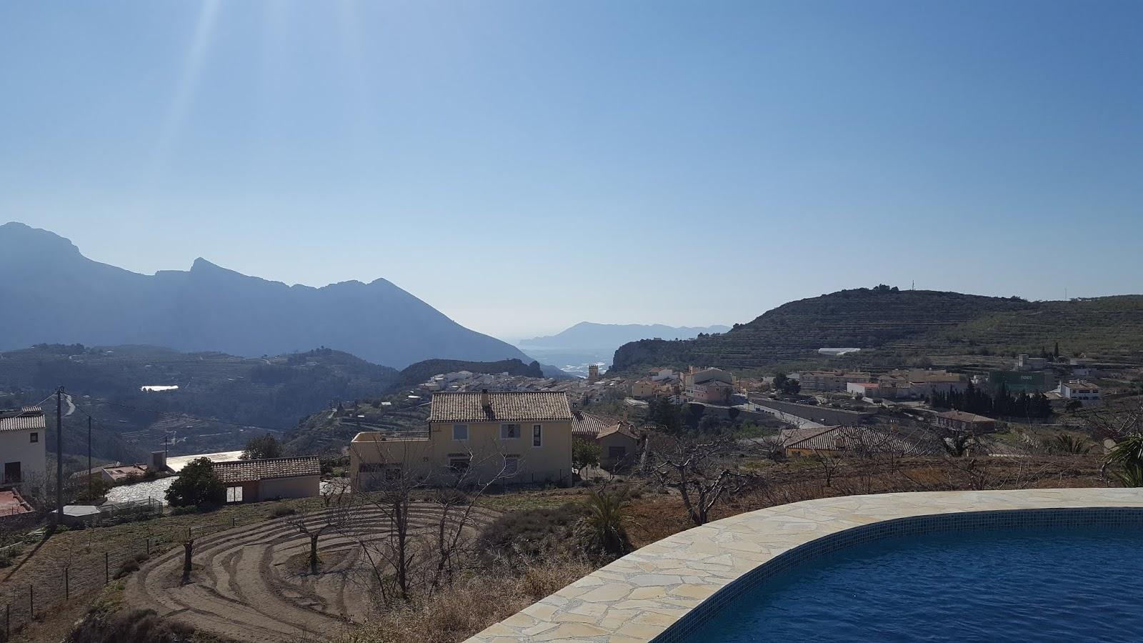View of Tàrbena, Alicante
