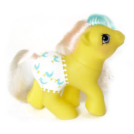 My Little Pony Baby Splashes UK & Europe  Baby Fancy Pants Ponies G1 Pony