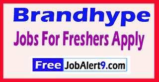 Brandhype Recruitment 2017 Jobs For Freshers Apply