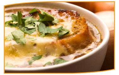 BLOND FRENCH ONION SOUP