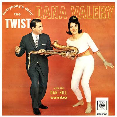 Dana Valery With The Dan Hill Combo - Everybody's Doin' The Twist  (1962)