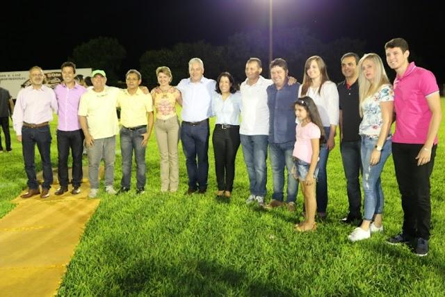 Secretário participa da abertura da Copa Sul Americana de Futebol em Goioerê