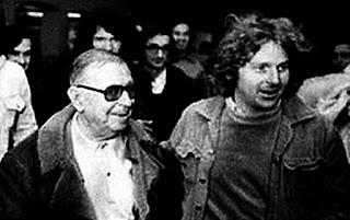El filósofo Jean-Paul Sartre, firme defensor de las reivindicaciones estudiantiles.