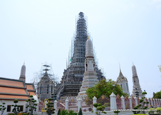 Wat Arun under renovation