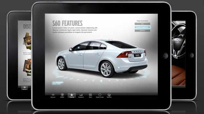 Volvo Cars First App Feel The Lines Of The S60