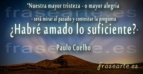 Frases para el pasado Paulo Coelho