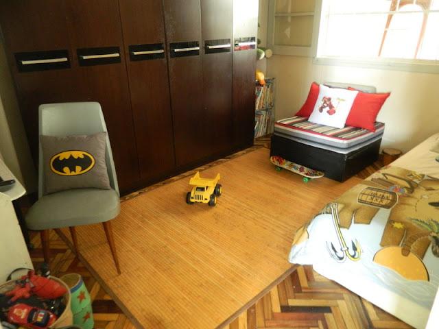 El dormitorio de Camilo.