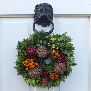 bath wreath