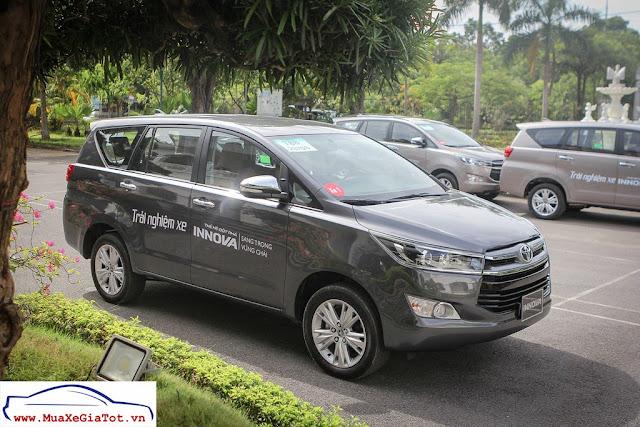 Toyota Innova 2017 hiện là mẫu xe MPV bán chạy nhất Việt Nam