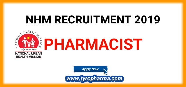 NHM Pharmacist Job Notification | 11 posts