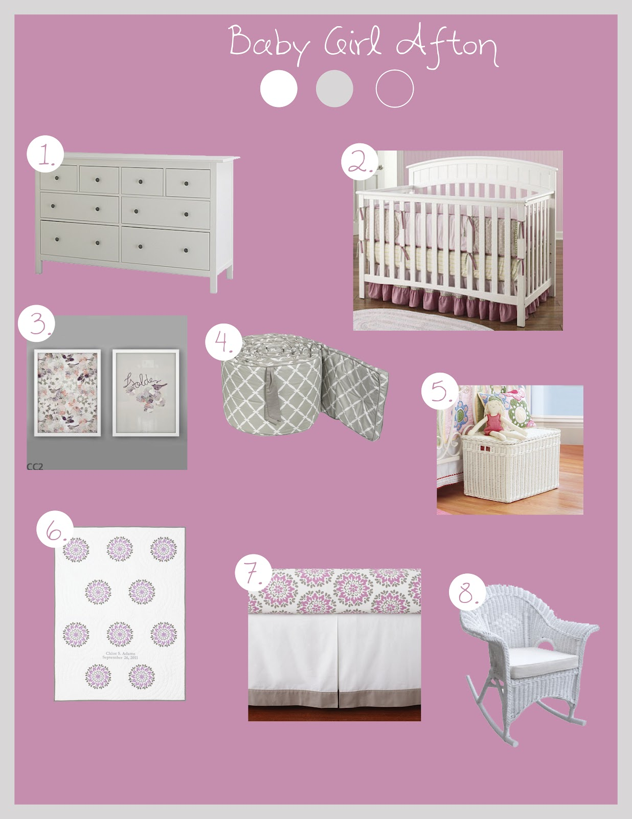 Our Little Poppy Seed Baby Afton S Room