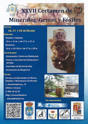 Cartel XXVII Certamen Minas, Oviedo