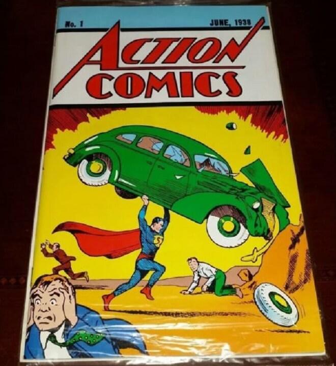Komik Pertama Superman