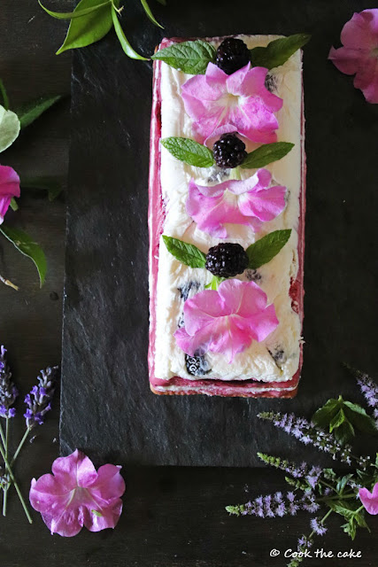 blackberry-icebox, tarta-helada-de-moras