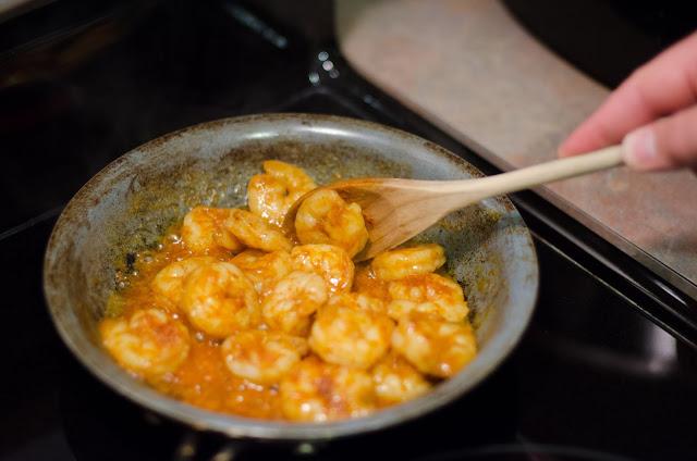 Moroccan Shrimp- Lemonthistle.blogspot.com