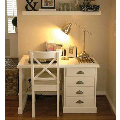 meja belajar anak minimalis kayu mahoni