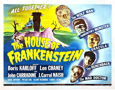 Awesomely Shitty Movies: House of Frankenstein (1944)
