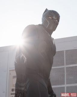 Chadwick Boseman in Captain America Civil War review