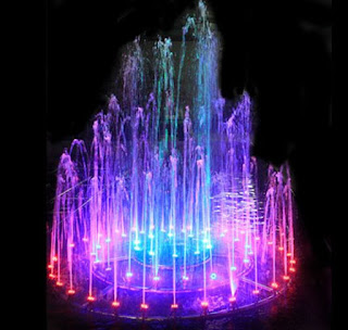 KUMPULAN GAMBAR ANIMASI AIR MANCUR BERGERAK Water Fountain