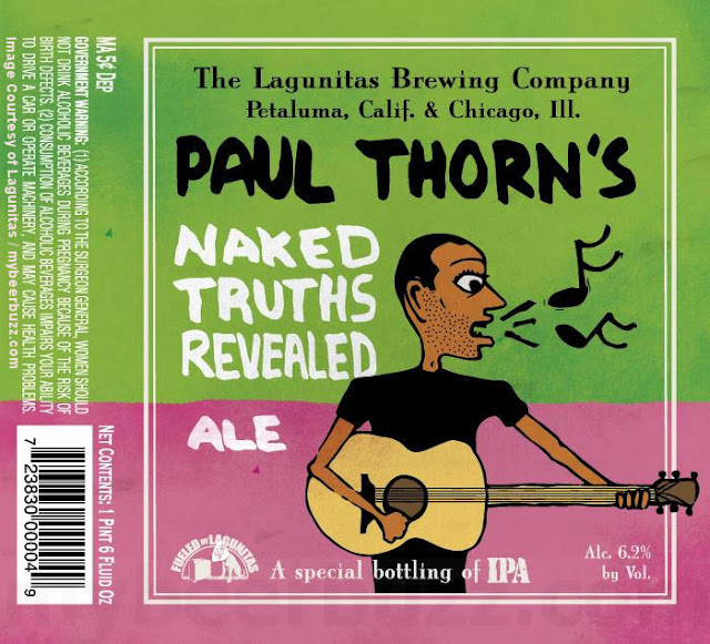 Lagunitas Working On Paul Thorn's Naked Truths Revealed Ale