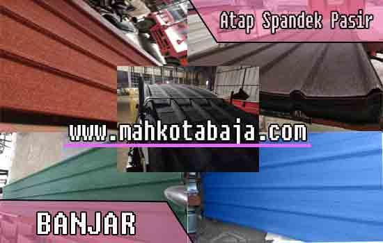 harga atap spandek pasir Banjar
