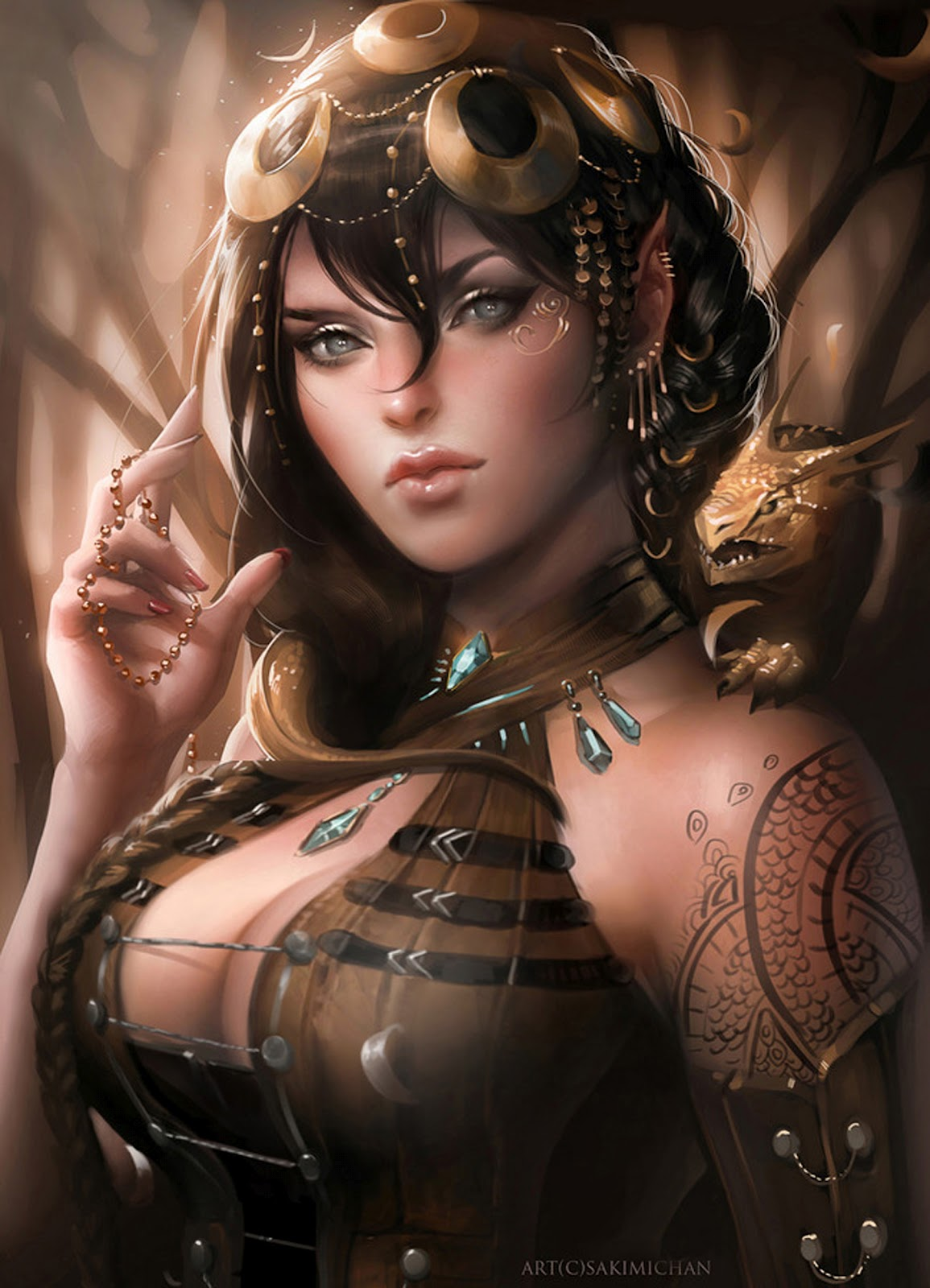 Have thought erotic fantasy women art