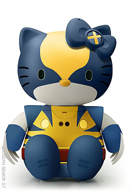 Hello Kitty - wolverine