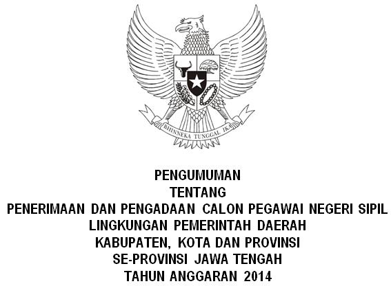 Lowongan Cpns Untuk Sastra Jawa Download Info Seputar Dunia Pendidikan Lowongan Cpns Pendaftaran Cpns Jawa Tengah 2014 Berbagi Beragam Informasi