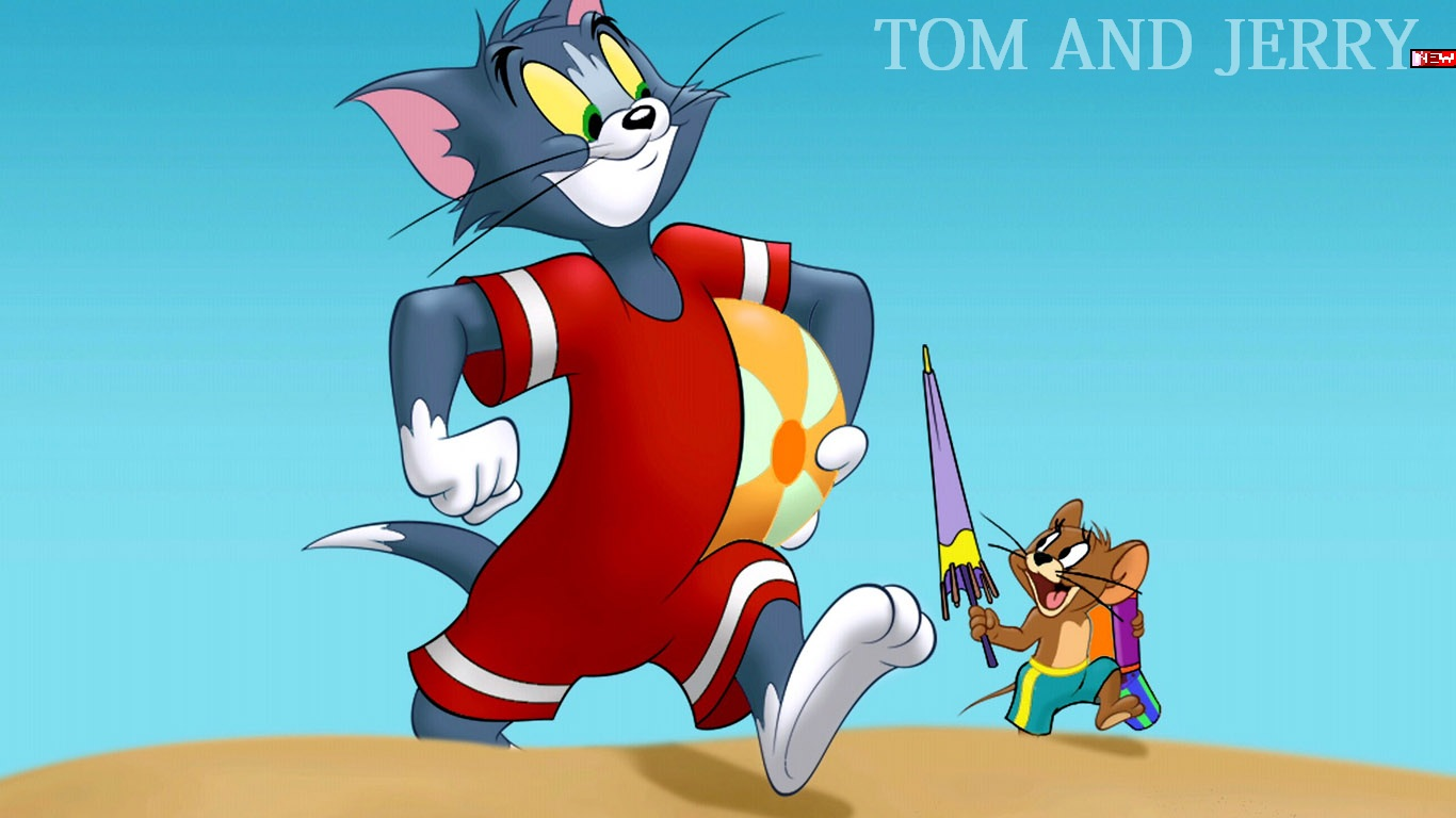American top cartoons: Tom and jerry hd wallpaper