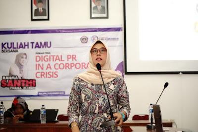 Siapkan PR yang Berkompeten di Era Digital, Prodi Ilmu Komunikasi Adakan Kuliah Tamu
