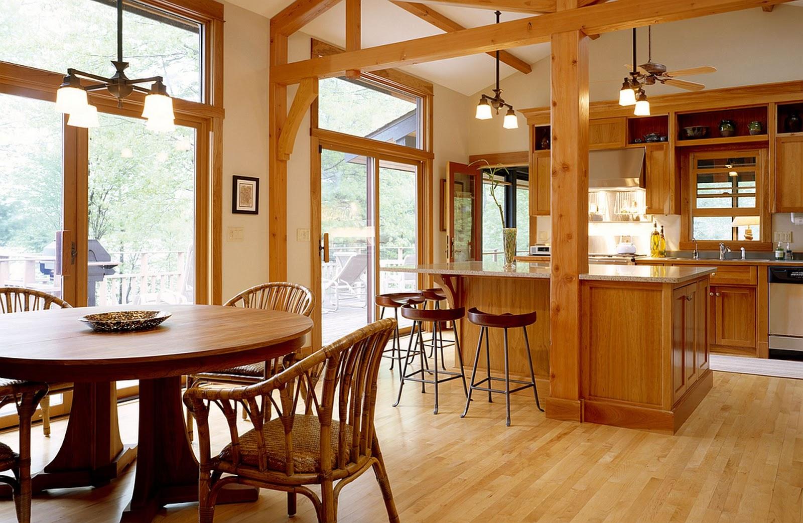 Wood Kitchen Floors Drawer Cabinet Flooring Silverspikestudio