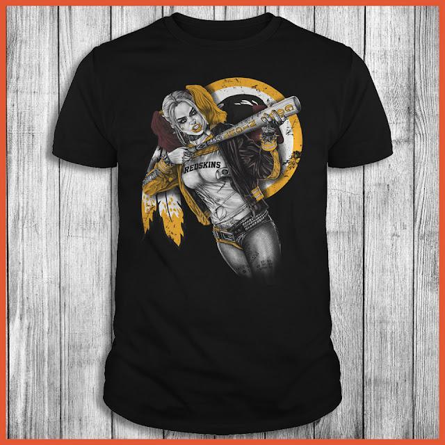 Washington Redskins Harley Quinn T-Shirt