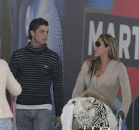Foto Cristiano Ronaldo dengan Romero Marche