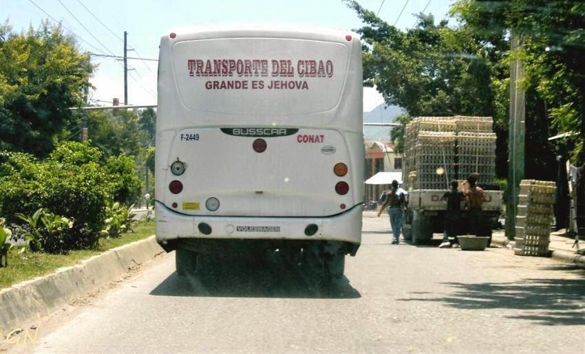 Автобус с именем Бога