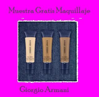 maquillaje face fabric giorgio armani
