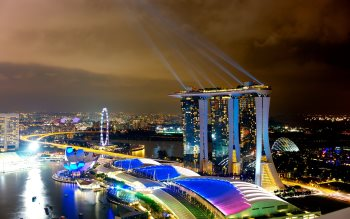 Wallpaper: Marina Bay Sands