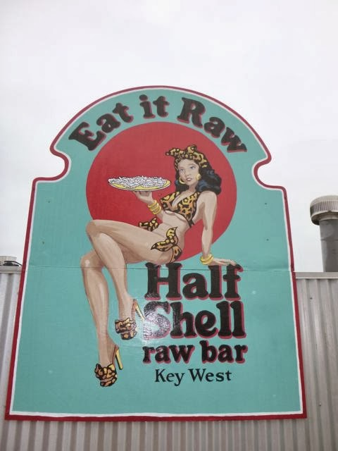 suggestive sign in florida keys