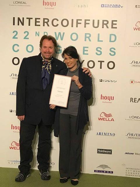 Samantha Kochhar with Mr.Klaus Peter Ochs