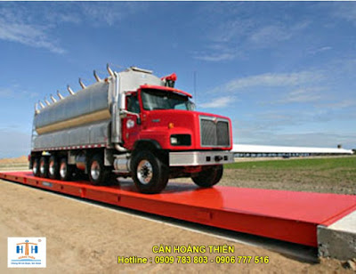 cân xe tải kiểu nổi 12m
