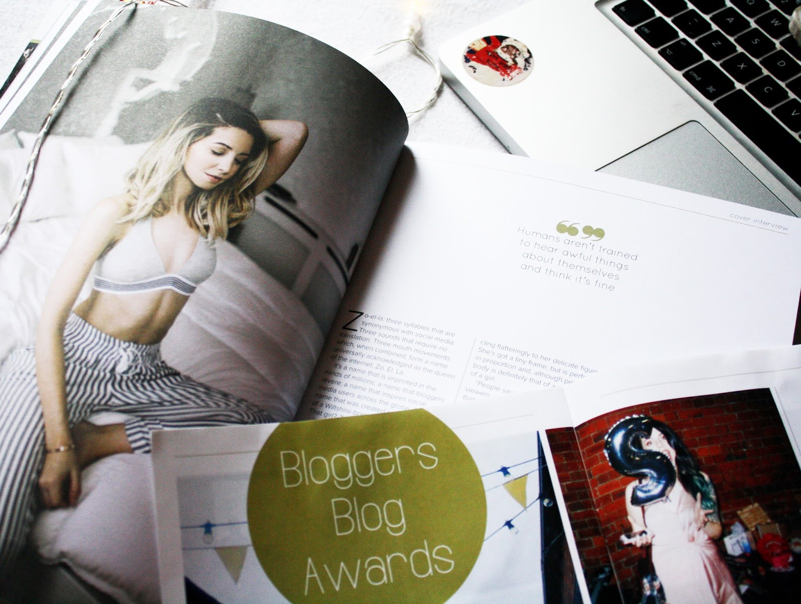zoella in blogosphere magazine