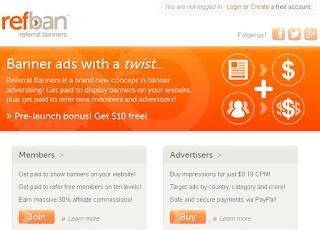 RefBan.com - Reklamy na bloga, stronę www, fora
